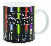 Gwiezdne wojny - Kubek termoaktywny miecze świetlne Star Wars