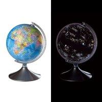 Interaktywny globus i świecąca mapa nieba