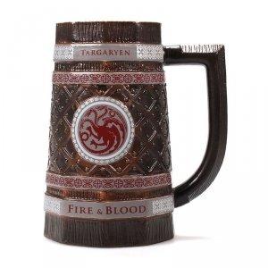 Gra o Tron - Kufel ceramiczny Targaryen