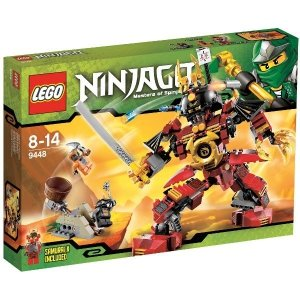 Lego Ninjago 9449 Samuraj Mech