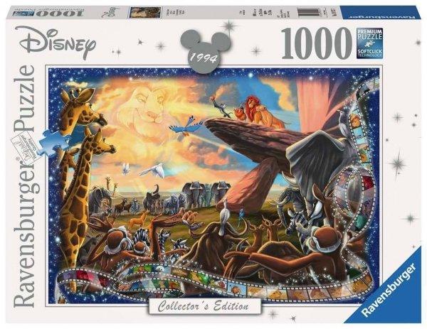 Disney - Puzzle 1000 el. Król Lew Collector edition
