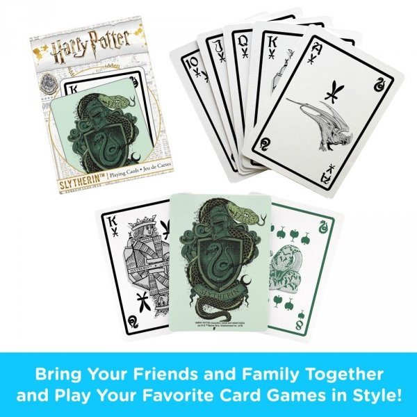 Harry Potter - Karty do gry Slytherin