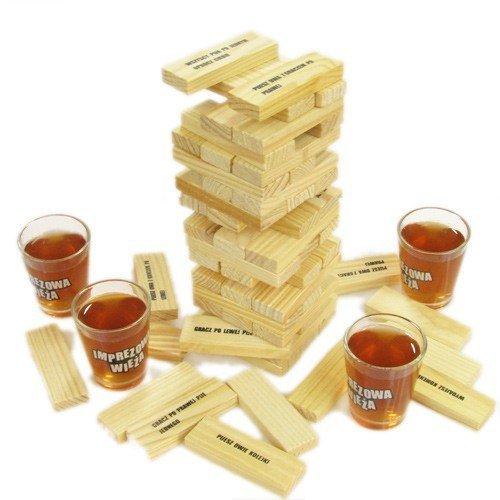 Imprezowa wieża - gra na imprezę