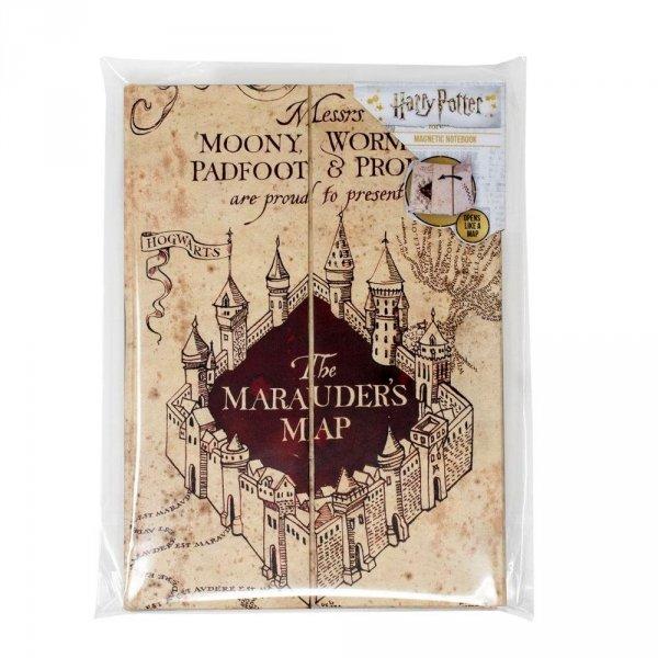 Harry Potter - Zeszyt A5 Mapa Huncwotów magnetyczny