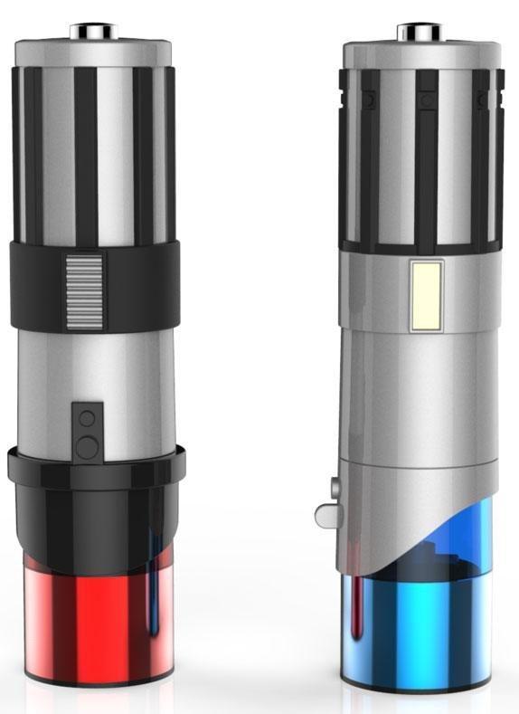 Star Wars - Solniczka i pieprzniczka miecze świetlne