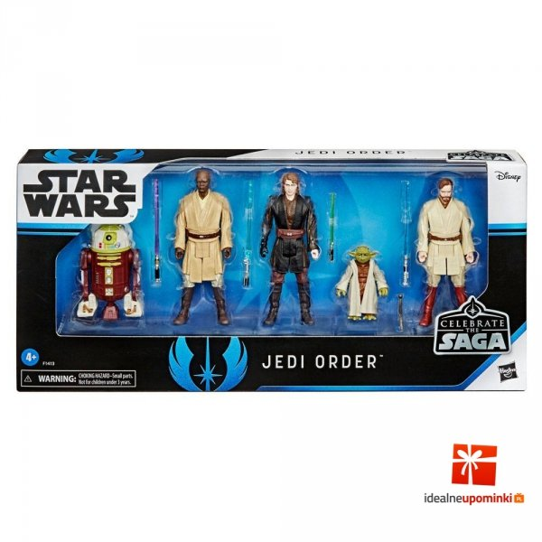 Star Wars - Zestaw figurek Jedi 10 cm