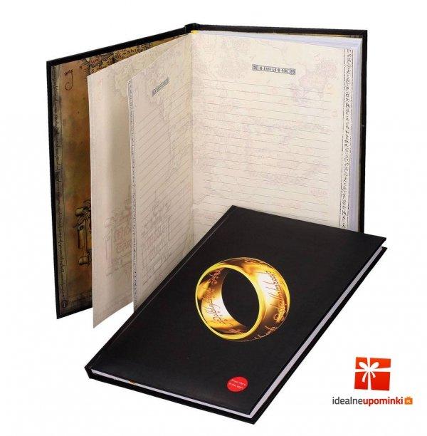 Władca Pierścieni - Świecący zeszyt A4