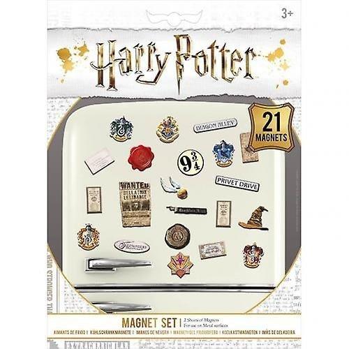 Harry Potter - Magnesy na lodówkę 21 szt.