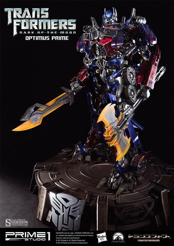 Transformers 3 - Statua Optimus Prime - 70 cm !