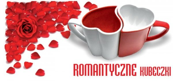 Zakochane kubeczki - romantyczne kubki