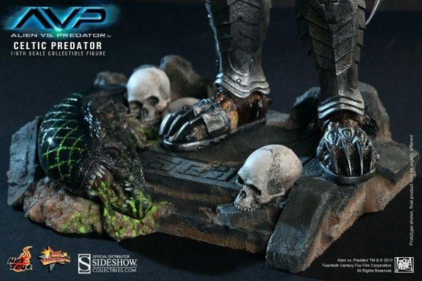 "Alien versus Predator ""Celtic Predator"" 36 cm 1/6 Scale"