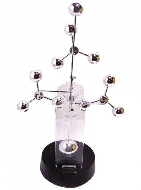 Płynnie poruszające się kinetyczne atomy