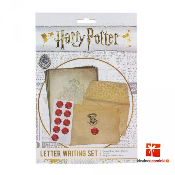 Harry Potter - Papeteria zestaw List z Hogwartu