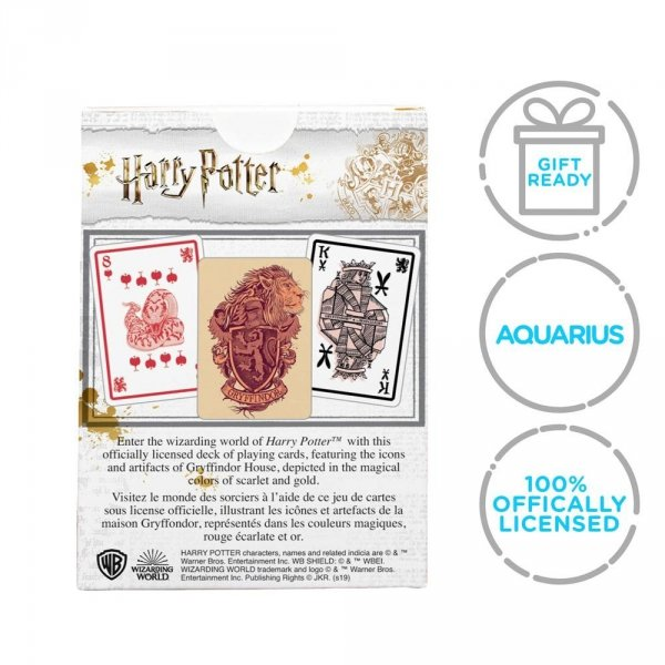 Harry Potter - Karty do gry Gryffindor