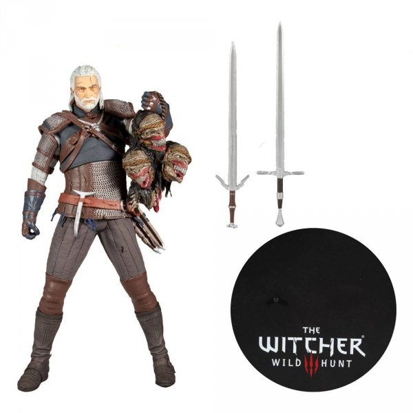 Wiedźmin - Figurka Geralt 30 cm Action Figure
