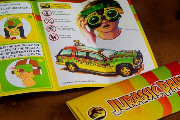 Jurassic Park - Zestaw powitalny