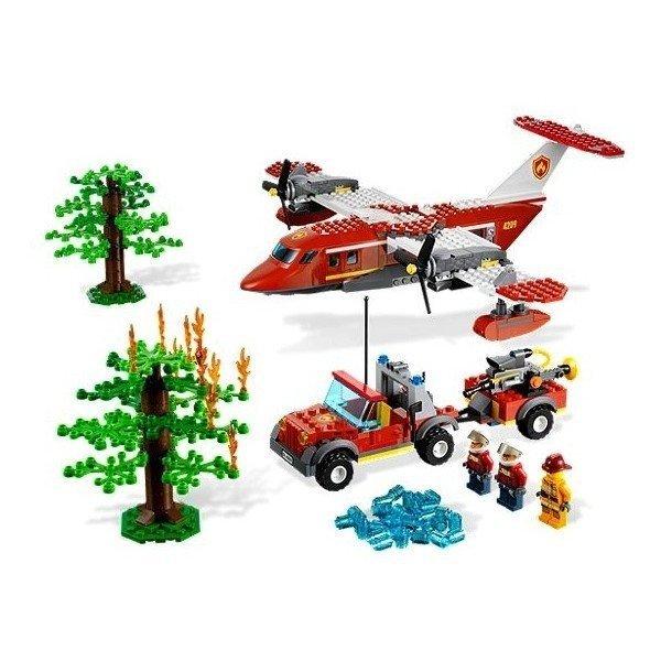 LEGO City 4209 - Samolot strażacki