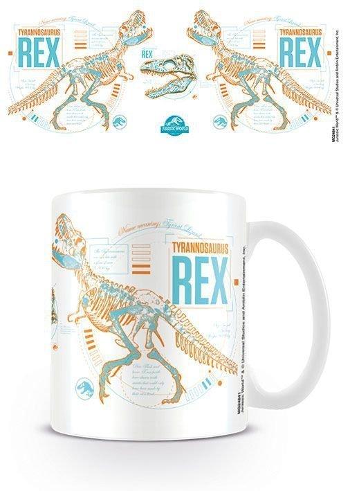 Jurassic World 2 - Kubek T-Rex szkielet