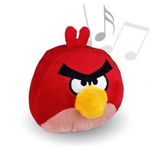 Pluszowe dźwiękowe Angry Birds 30 cm wracają