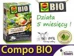 Ekologiczny Organiczny Nawóz z owczej wełny Uniwersalny COMPO BIO 750g