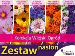 Kolekcja Wiejski Ogród (zestaw 5 gatunków) nasiona