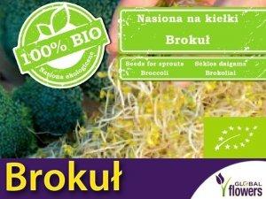 BIO Brokuł - nasiona na kiełki ekologiczne 10g