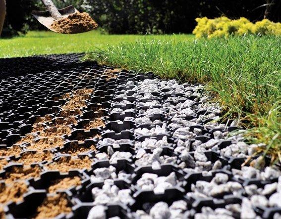 Kratka trawnikowa Garden Grid (537x 521x 40mm) 20 szt. 5m2