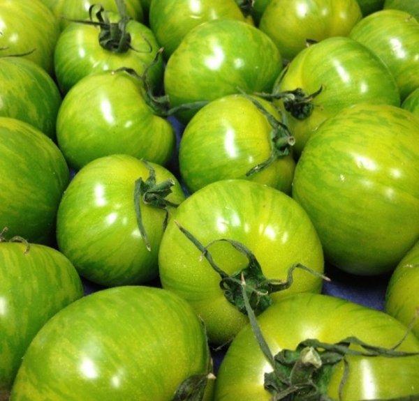 Pomidor zielony w paski Green Zebra (Lycopersicon Esculentum)