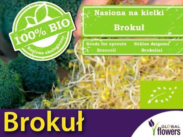 BIO Brokuł - nasiona na kiełki 10g