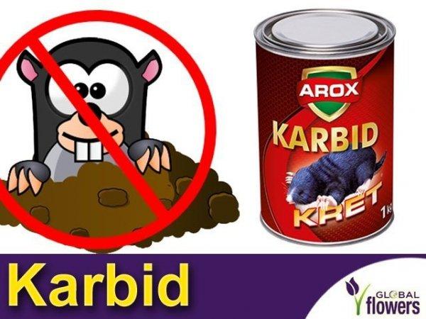 AROX Karbid na krety i nornice 1kg