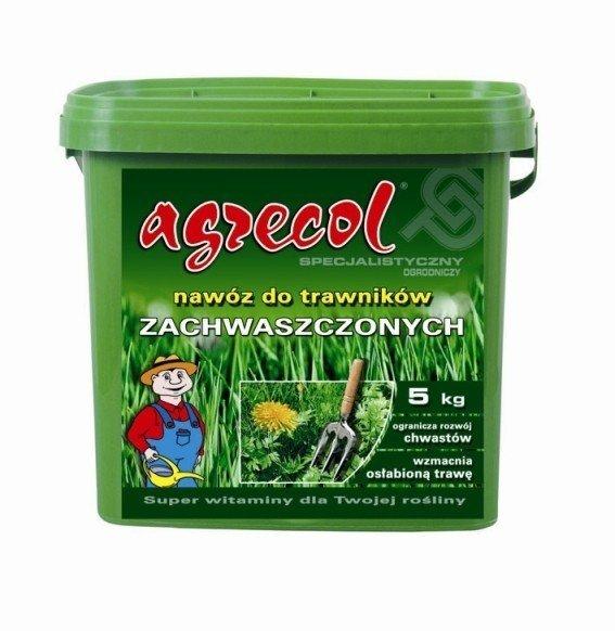 Agrecol Nawóz do trawników zachwaszczonych 5kg