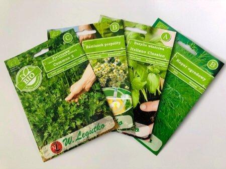 BIO nasiona aromatyczne do kuchni nasiona ekologiczne cena jak uprawiac