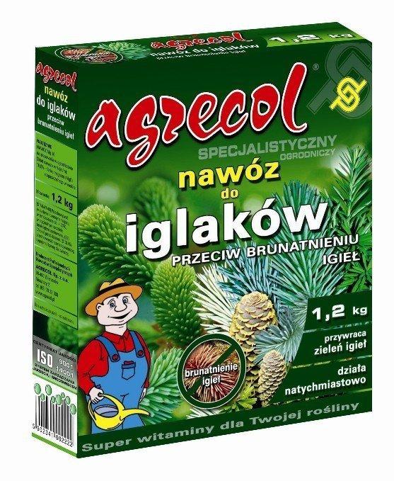 Agrecol Nawóz do iglaków, przeciw brunatnieniu igieł 1,2 kg
