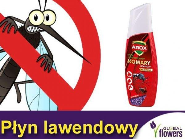 AROX Płyn odstraszający komary i kleszcze (Lawenda) 200ml