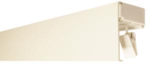 Profil karniszowy podsufitowy PCV POJEDYNCZY + OSŁONA BIAŁA 125 cm do 500 cm