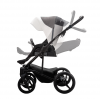 wózek wielofunkcyjny 2019 TORINO  ZŁOTY lub MIEDZIANY STELAŻ  ( gondola+ spacerówka + fotelik MARS ) Bebetto