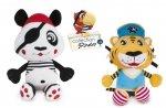 Pluszowa zabawka z klipsem z kolekcji Piraci panda , lew CANPOL