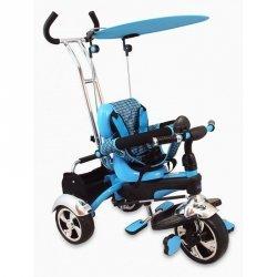 Rowerek trójkołowy SPORT TRIKE niebieski  BABY MIX