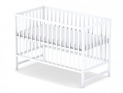 łóżeczko KLASYCZNE kolor biały 120/60 cm