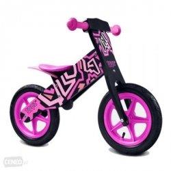 Rowerek biegowy  Zap TOYZ różowy