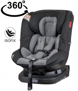 fotelik obrotowy 360 MILLO ISOFIX 0-18 kg COLETTO
