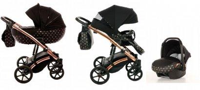 wózek LARET IMPERIAL 3w1 (gondola+spacerówka<br />+fotelik) TAKO