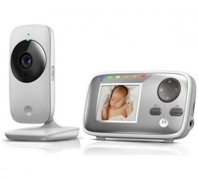 Niania Elektroniczna z kamerą, monitor 2.4 MBP482 Motorola