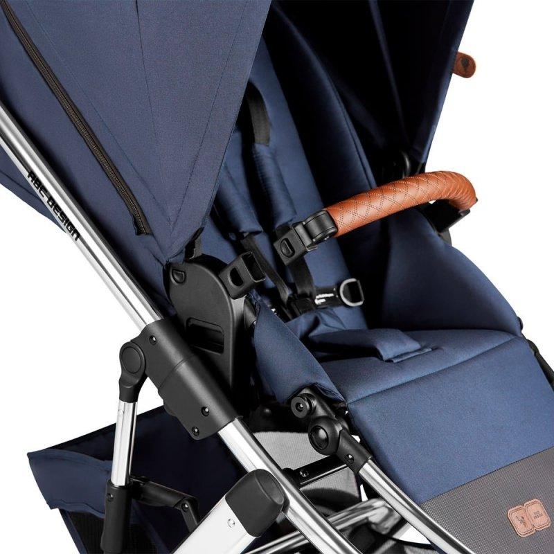 Diamond Edition 2021 SALSA AIR 4 zestaw 2w1 + adaptery do maxi-cosi ABC DESIGN kolor navy