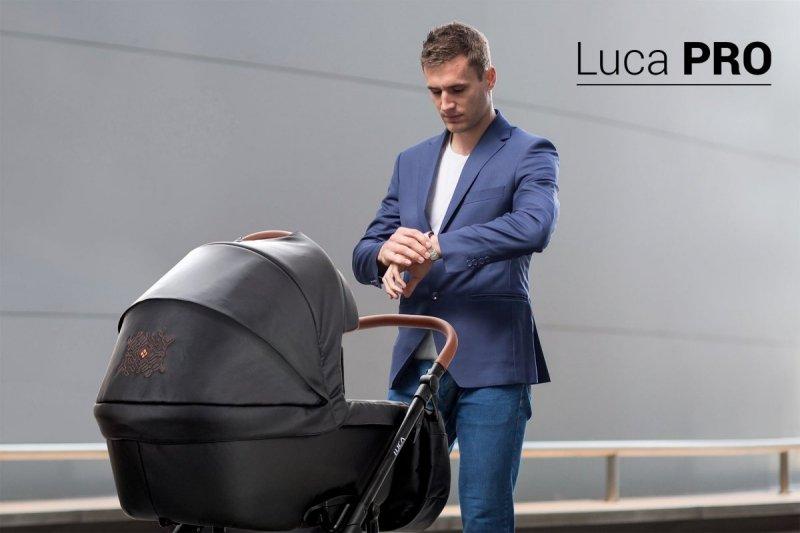 wózek LUCA PRO EKO-SKÓRA nowość zestaw 2w1 BEBETTO