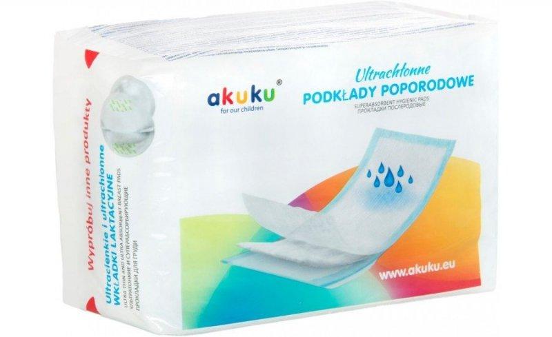 Podkłady poporodowe AKUKU 10 szt kod A0369
