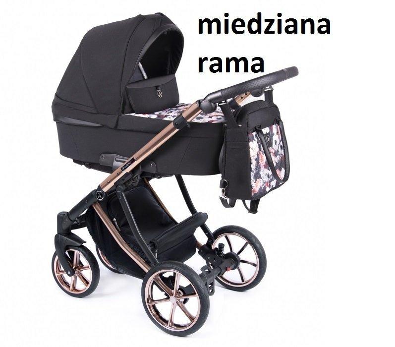 ponadczasowy DANTE 2021 zestaw 2w1 ( gondola + spacerówka) + ADAPTERY DO MAXI-COSI Coletto