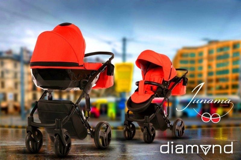 wózek  2w1 DIAMOND  (gondola+spacerówka ) JUNAMA TAKO