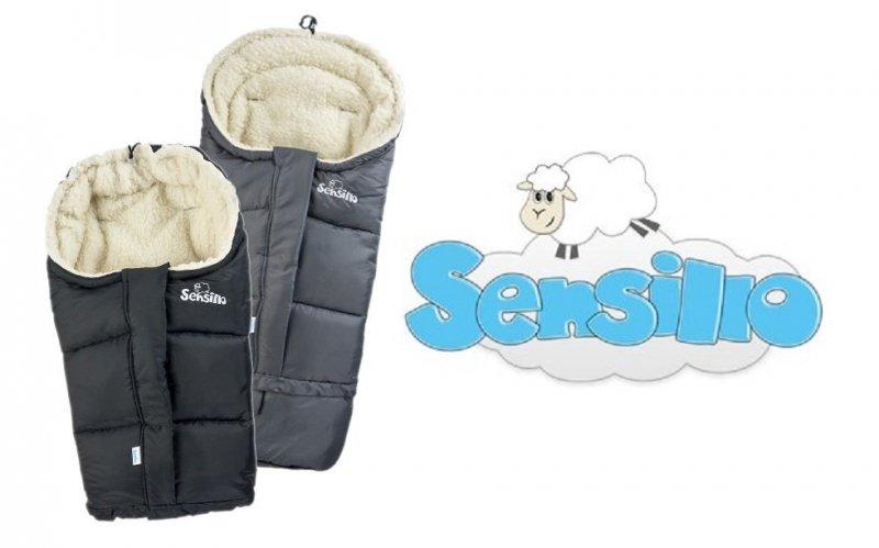 Śpiworek regulowany 4w1 do wózka . fotelika i na sanki WEŁNA Sensillo  GRANAT/NAVY