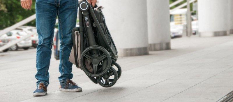 JOGGY 2018 wózek do 25 kg  kola pompowane, ekoskóra  COLETTO